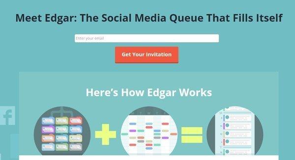 Meet Edgar Twitter too