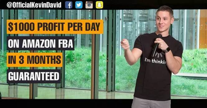 kevin david amazon fba masterclass