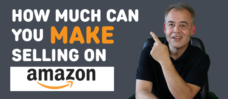 how much can you make selling on amazon