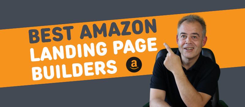 amazon landing page builders